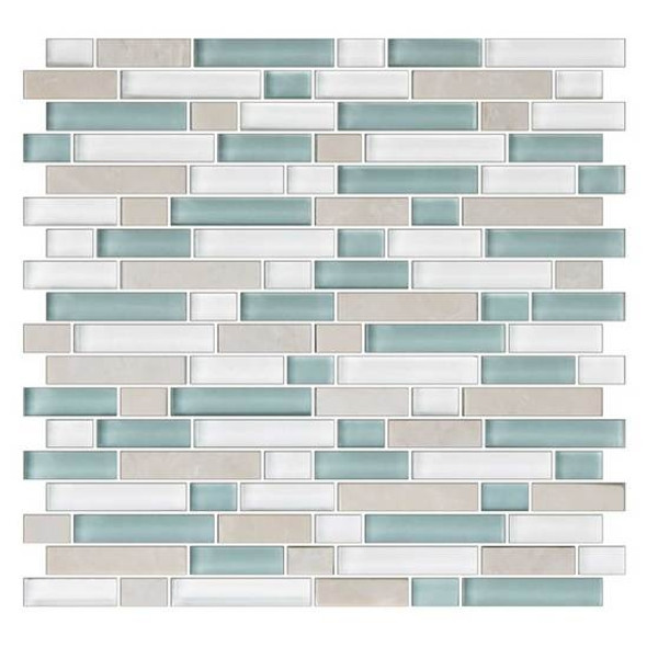 https tilestoreonline com american olean color appeal blends c136 pacific coast blend 5 8 x random linear interlocking glass stone mosaic tile