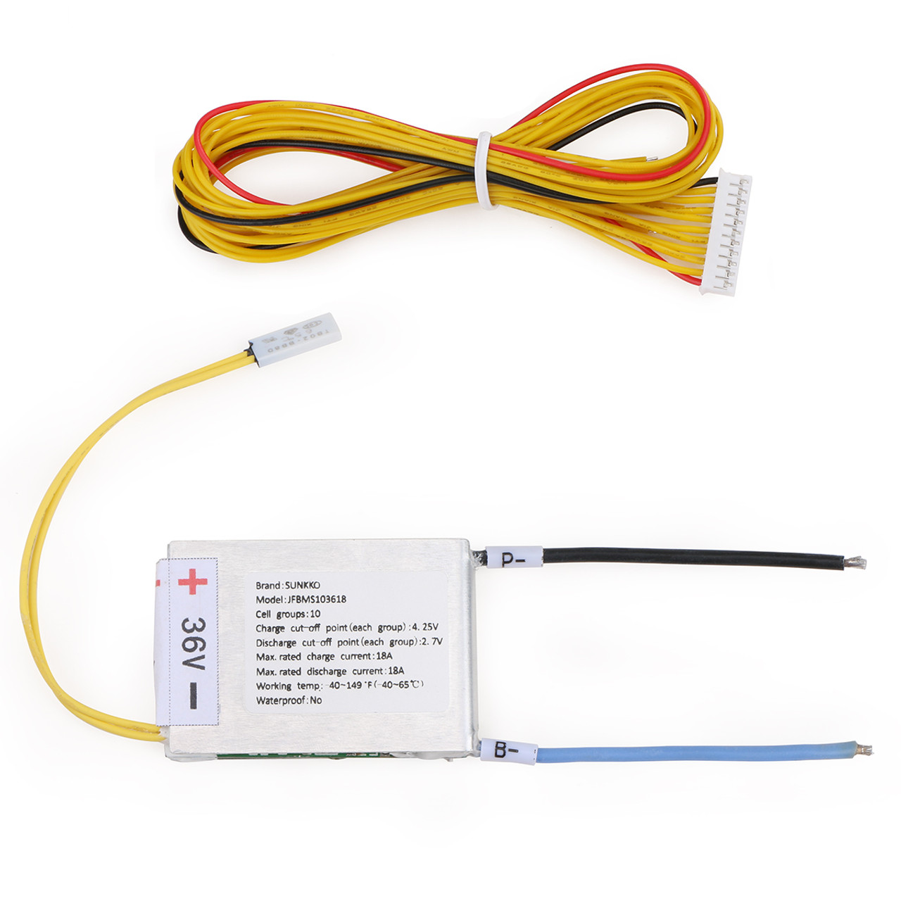 small resolution of 36v 10s battery management system bms
