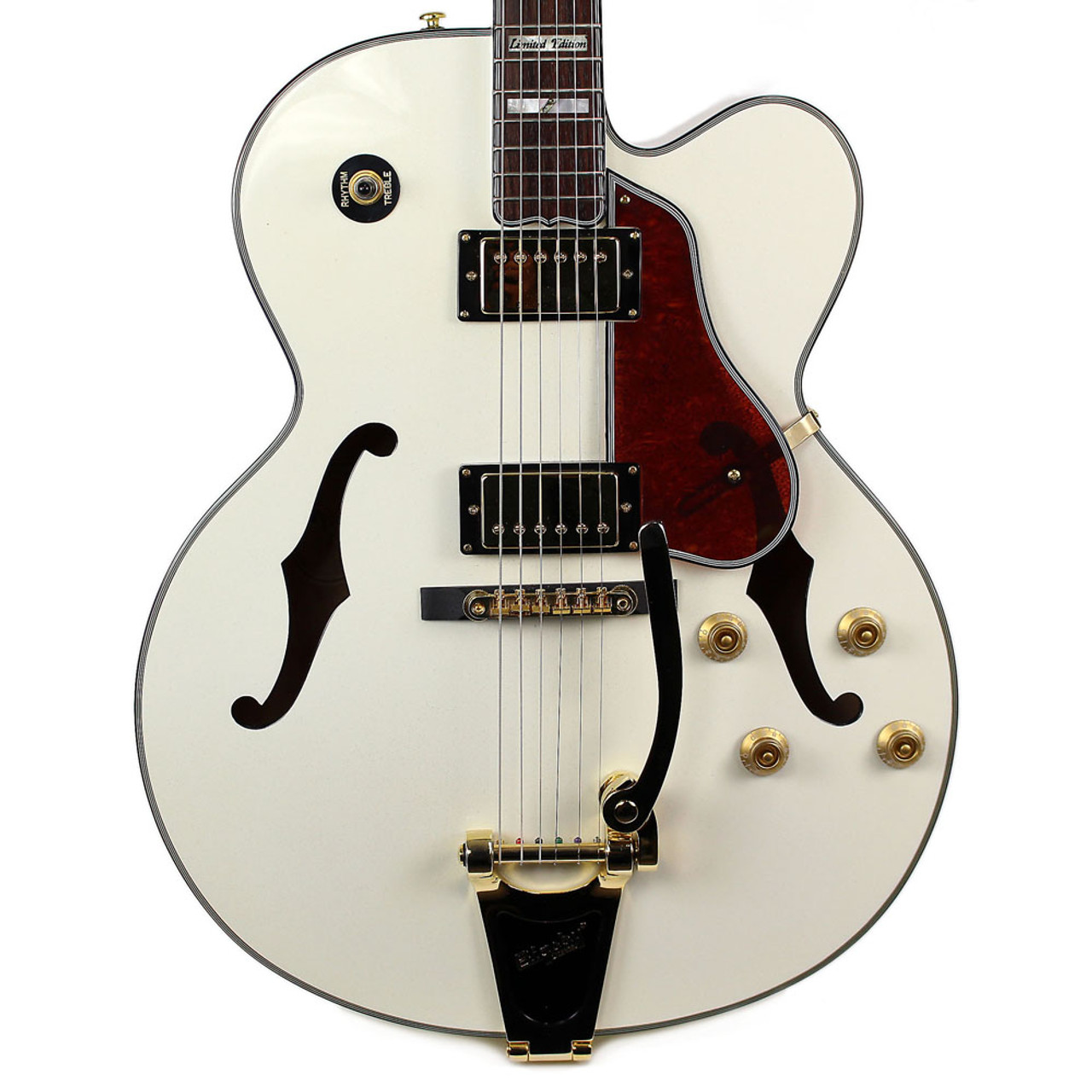 small resolution of used samick lasalle greg bennet jz2 ltd electric guitar pearl white cream city music