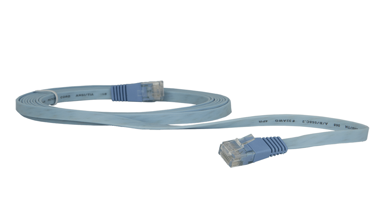 medium resolution of flat patch cord 2m