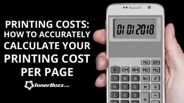 Printing Costs: How To Accurately Calculate Your Printing Cost Per