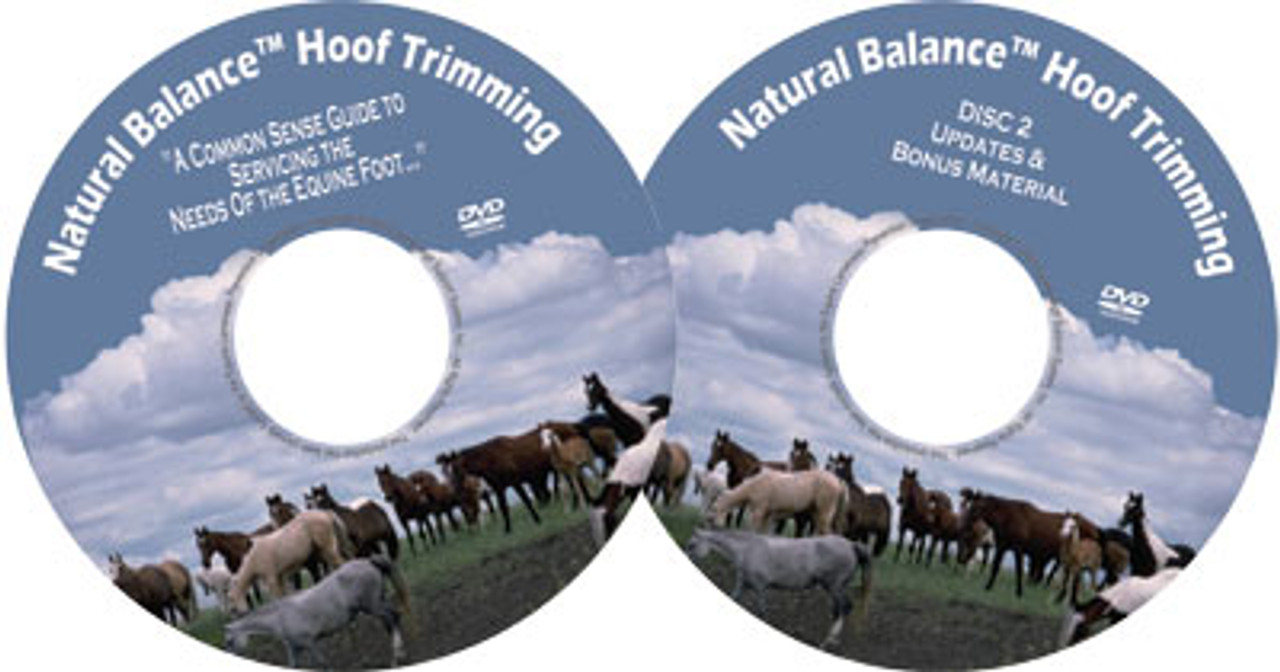 medium resolution of  natural balance hoof trimming dvd set