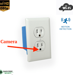 looking for the ultimate hidden camera look no further this outlet can replace any outlet in your home the wi fi camera hidden in the outlet can you have  [ 2200 x 2163 Pixel ]
