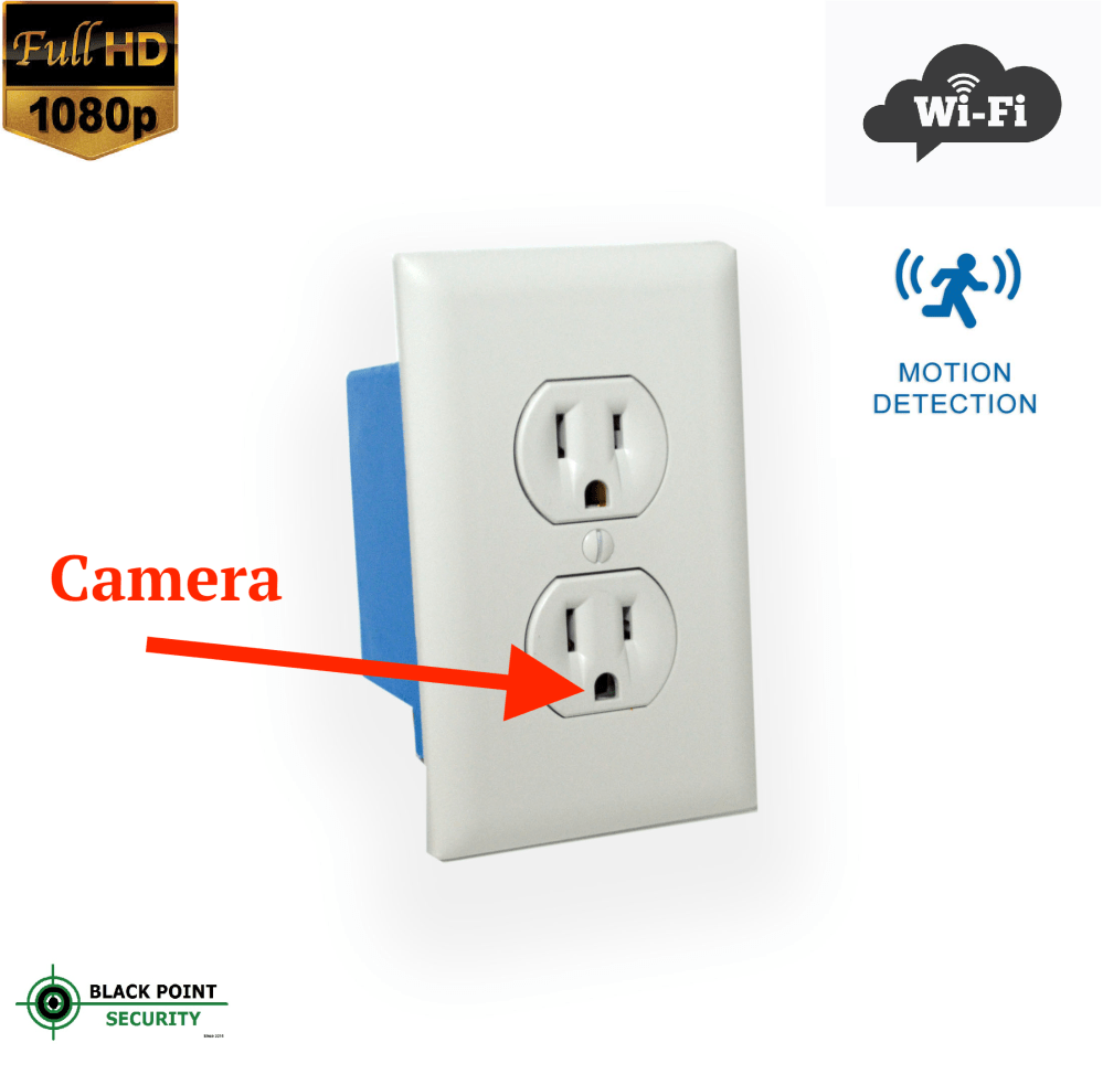 medium resolution of looking for the ultimate hidden camera look no further this outlet can replace any outlet in your home the wi fi camera hidden in the outlet can you have