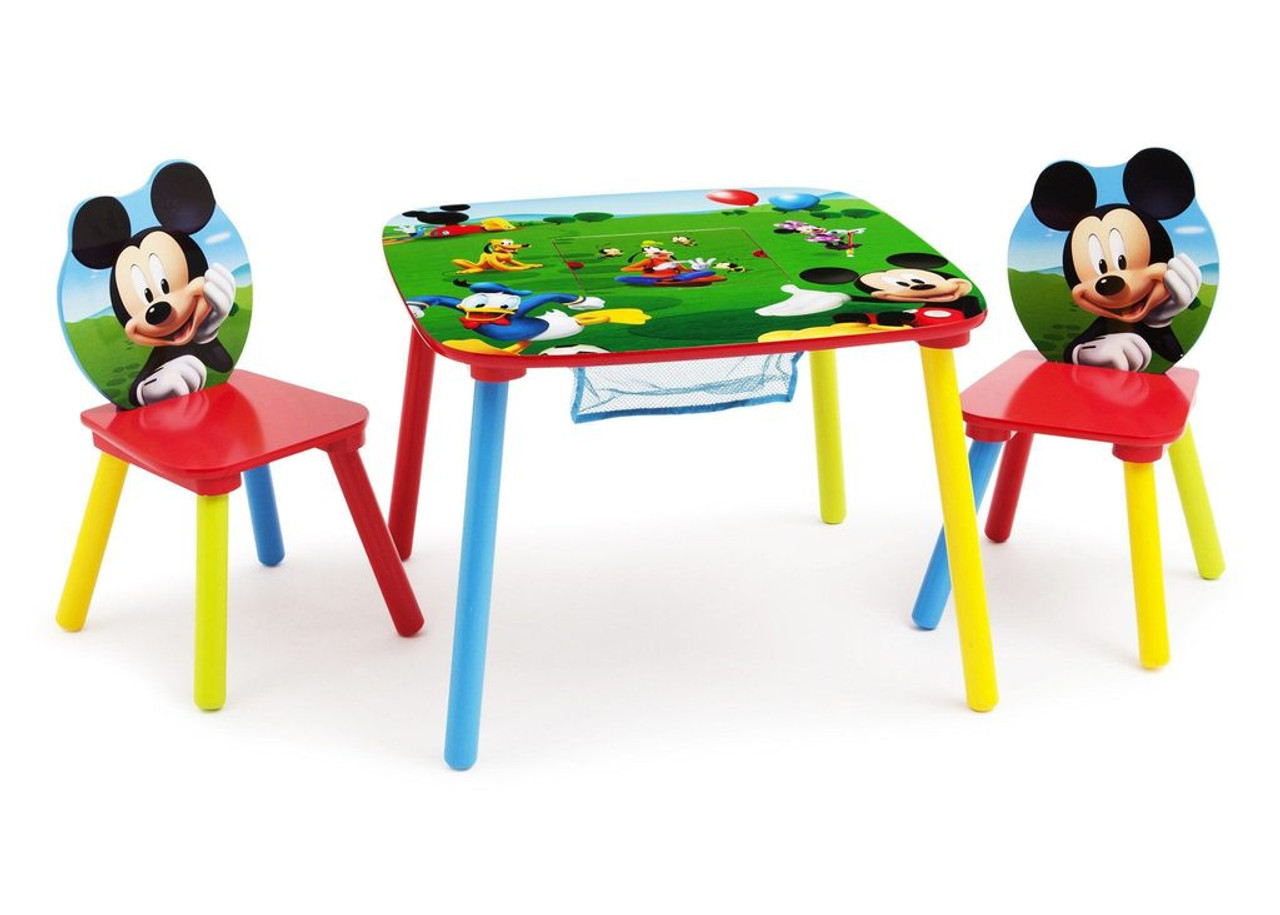 mickey mouse clubhouse chair aviator replica table set with storage cb furniture