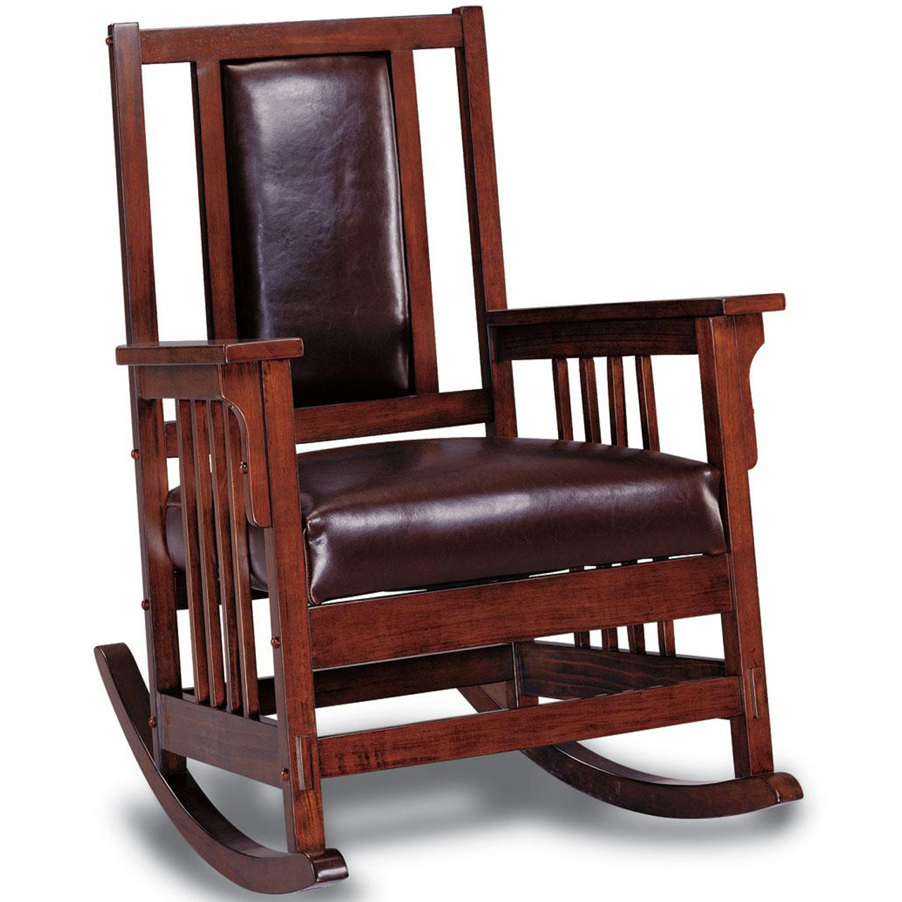 Leather Rocking Chair El Dorado Upholstered Rocking Chair