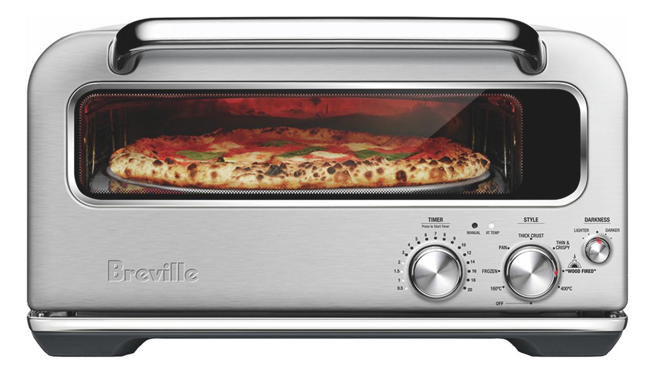 breville the smart oven pizzaiolo brick oven