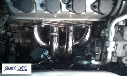 megan racing honda civic 01 04 ex stainless steel headers ssh hc0117