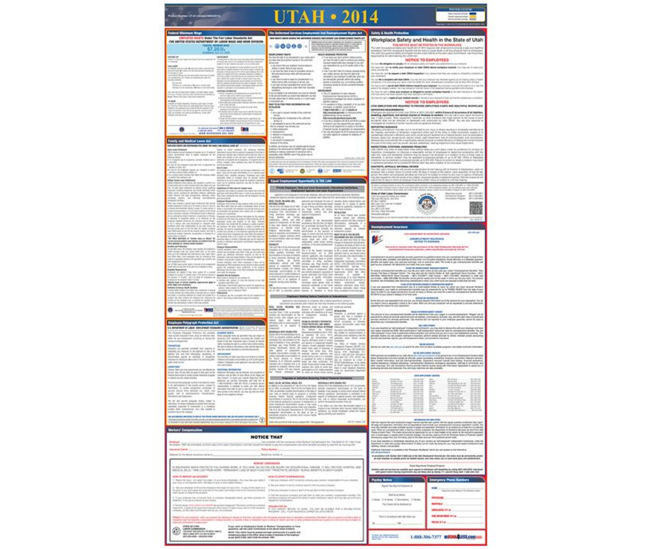 nmc llp fl florida labor law and osha compliance poster