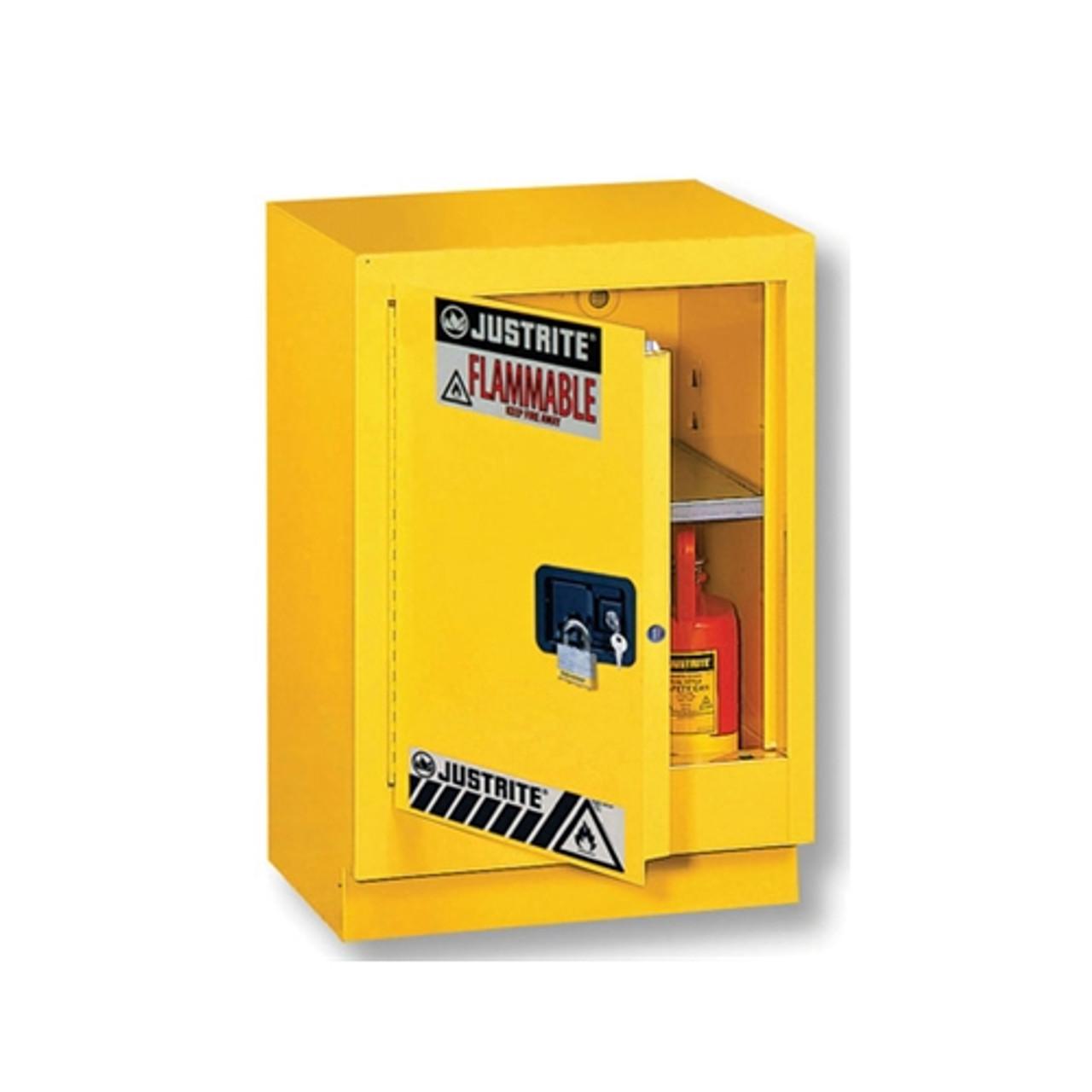 Justrite 882430 Flammable Cabinet Cap 15 Gal
