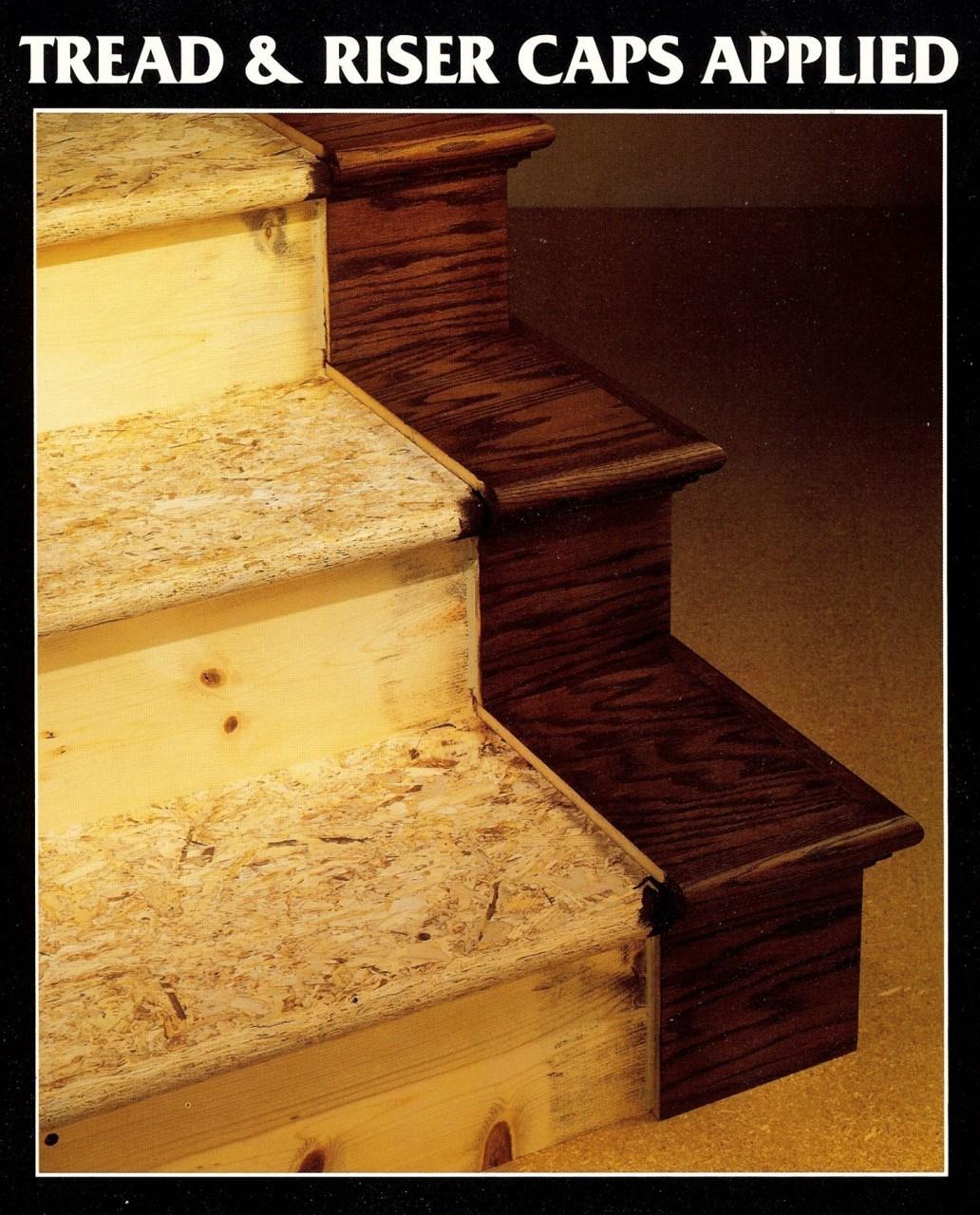 K8971 False Tread Cap Lh Rh Proudly Made In Usa   Oak Stair Tread Caps   Pergo Outlast   Scraped Oak   Riser Kit   Wood   Sp125 4F048C