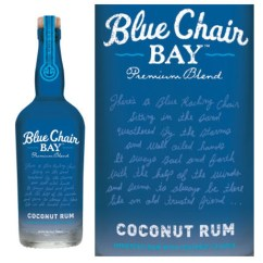 Blue Chair Rum Poly Cotton Covers For Sale Kenny Chesney Bay Coconut 750ml