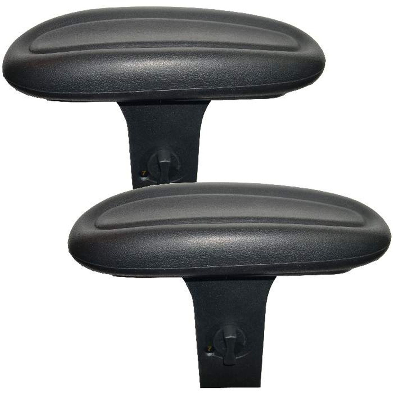 chair bottom pads green universal covers centric office armrests arm installed on typical posts