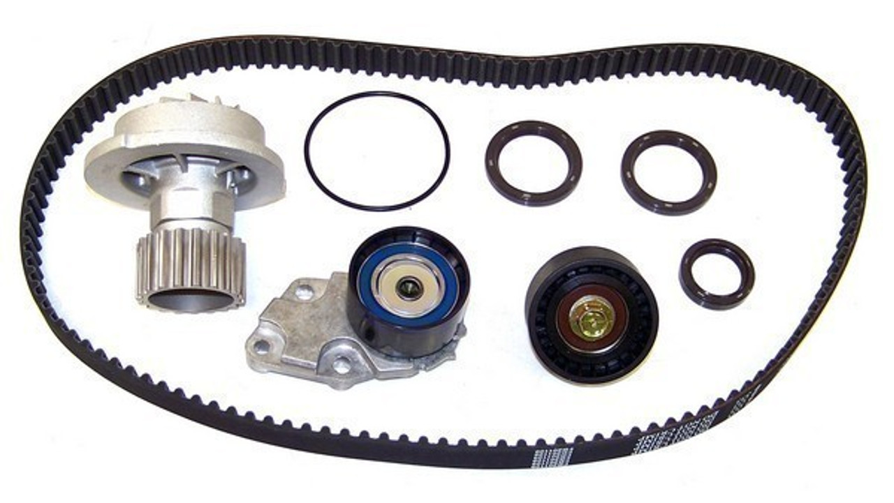 hight resolution of 2007 chevrolet aveo 1 6l engine timing belt kit with water pump tbk325wp 4