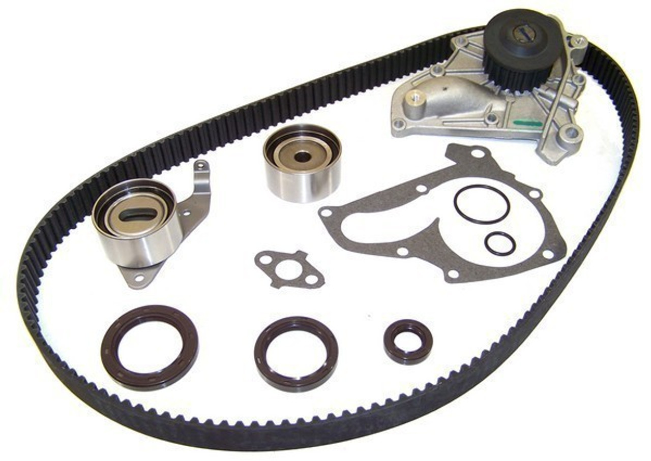 medium resolution of 1999 toyota rav4 2 0l engine timing belt kit with water pump tbk907wp 37