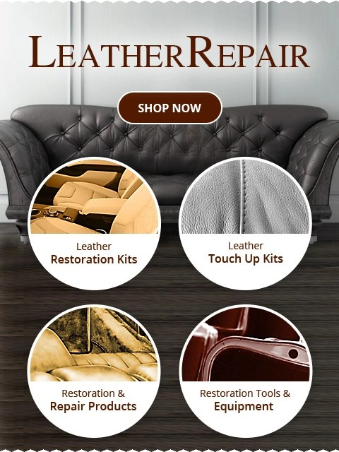 Leather Touch Up Dye : leather, touch, Leather, World, Repair, Products, Technologies