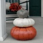 Original Stack Of 3 Pumpkins Athena Garden