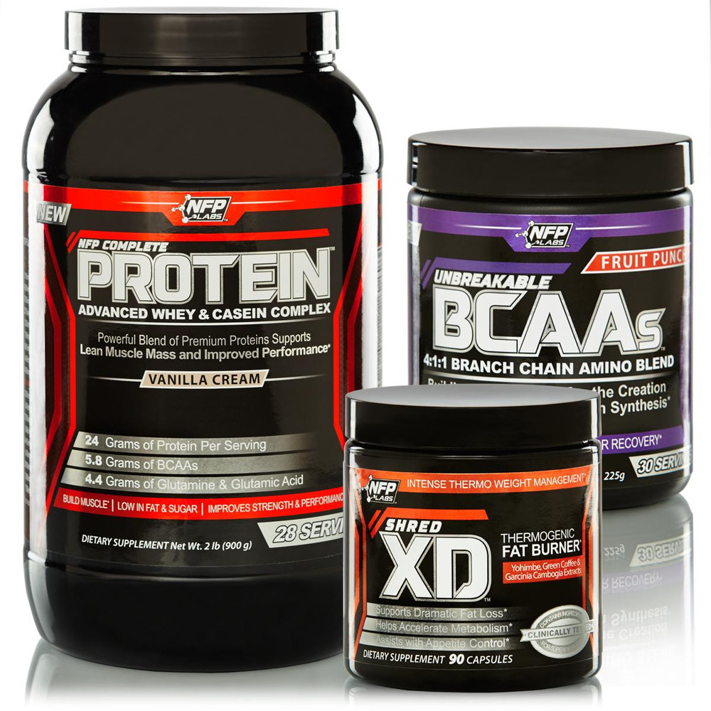 shredded supplement stack fat