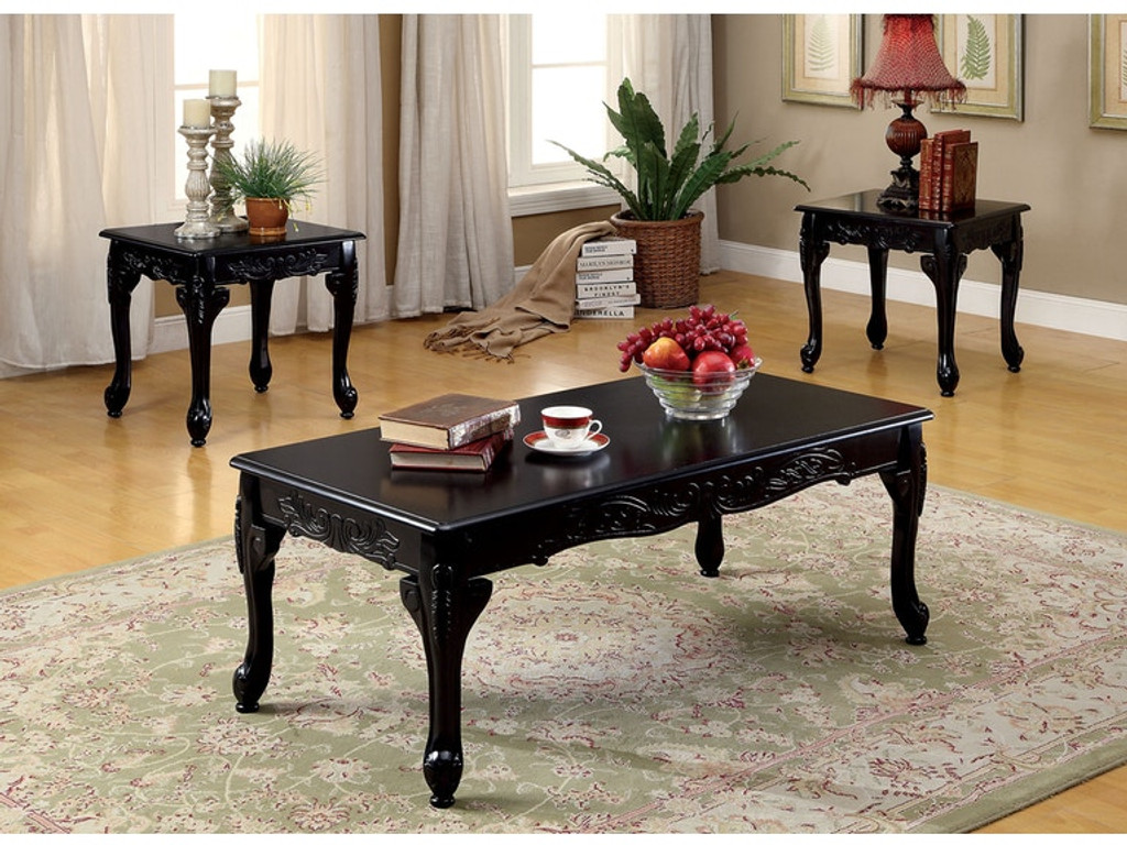 the chesire black coffee table set