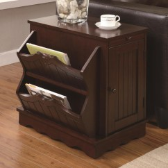 Chair Side Tables With Storage Mission Style Chairs Cherry Table Miami Direct Furniture Click Here To Enlarge