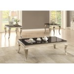 The 3pc Glam Coffee Table Set Miami Direct Furniture