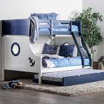 The Nautia Twin Full Bunk Bed Miami Direct Furniture