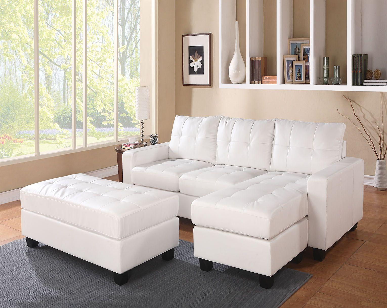 the lyssa sofa chaise w ottoman