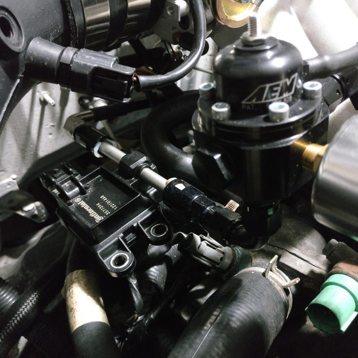 jbtuned flex fuel e85 fuel system conversion civic integra b d series [ 1200 x 1200 Pixel ]