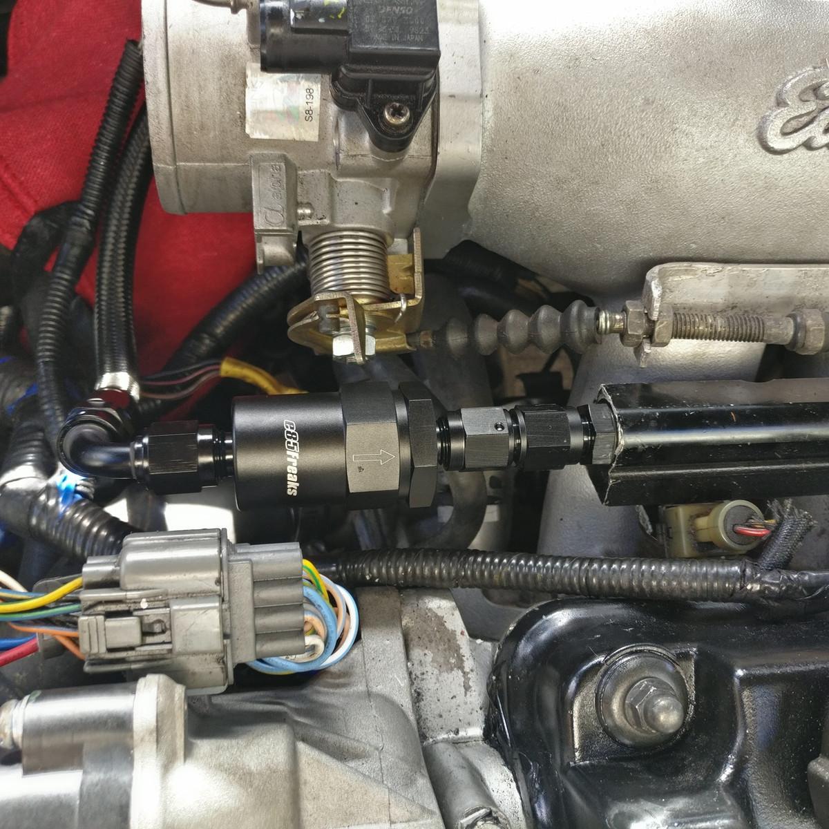 medium resolution of jbtuned honda ef civic da integra crx fuel line tuck kithonda crx fuel filter 3