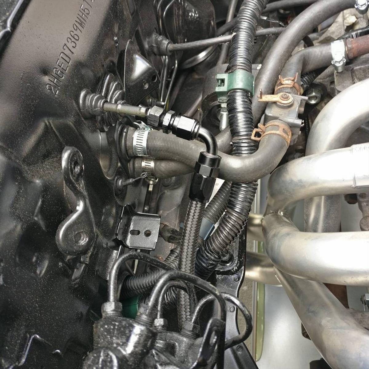 jbtuned ef da civic integra crx k swap fuel line kit [ 1080 x 1080 Pixel ]