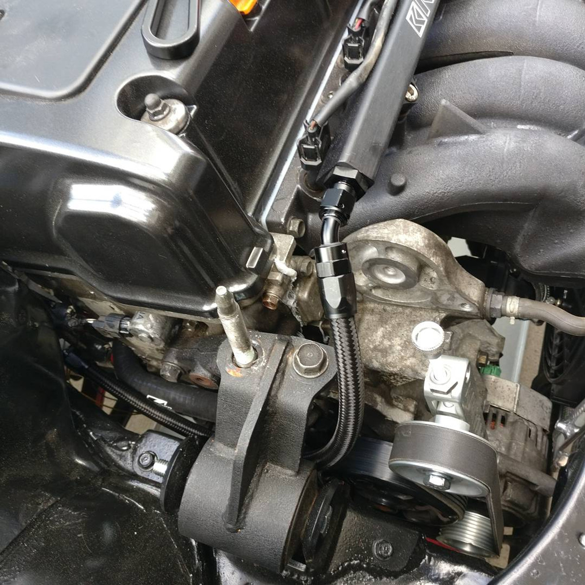 hight resolution of jbtuned ef da civic integra crx k swap fuel line kit