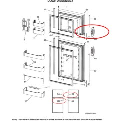 Dometic Rm2852 Wiring Diagram Basic For Car Stereo Parts Rv Refrigerators And Sale Refrigerator Door Handle 3851047013