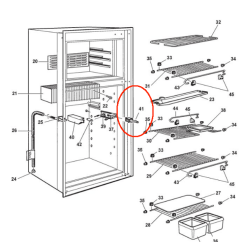 Dometic Rm2852 Wiring Diagram Dual Marine Radio Refrigerator Parts Schematic Online By Model Page 1 The Guy Thermostat Door Light