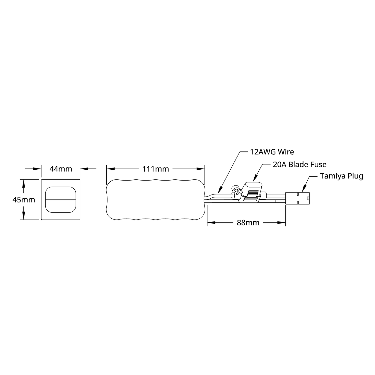small resolution of  battery 14 0014 schematic