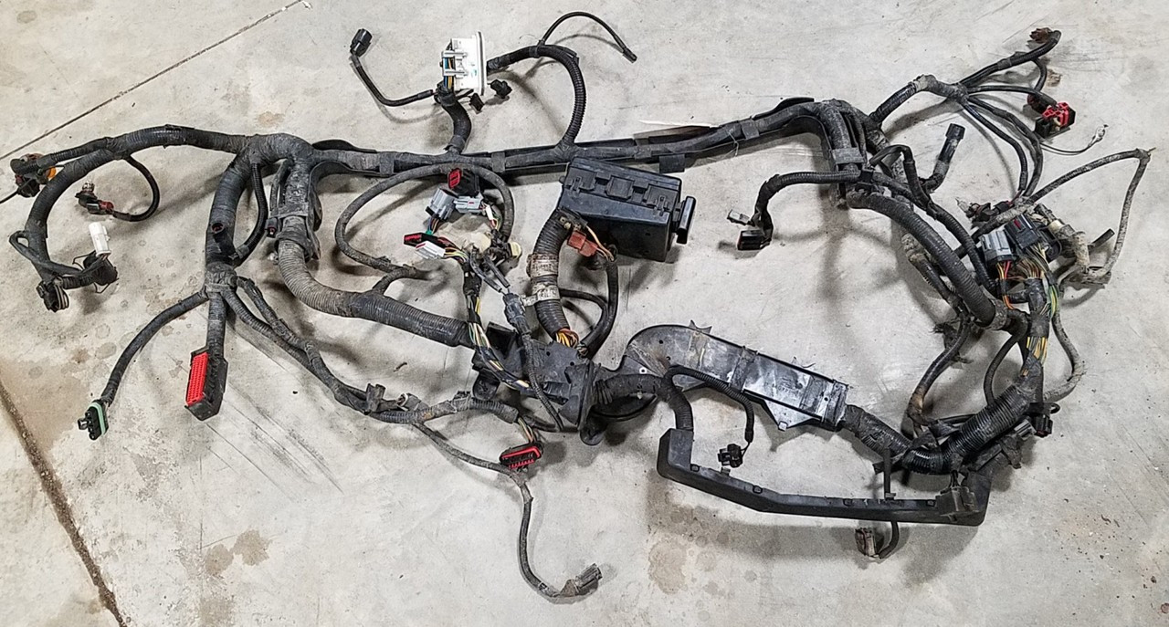 hight resolution of 1993 1995 lincoln mark viii main engine bay harness with fuse box 4 6l dohc
