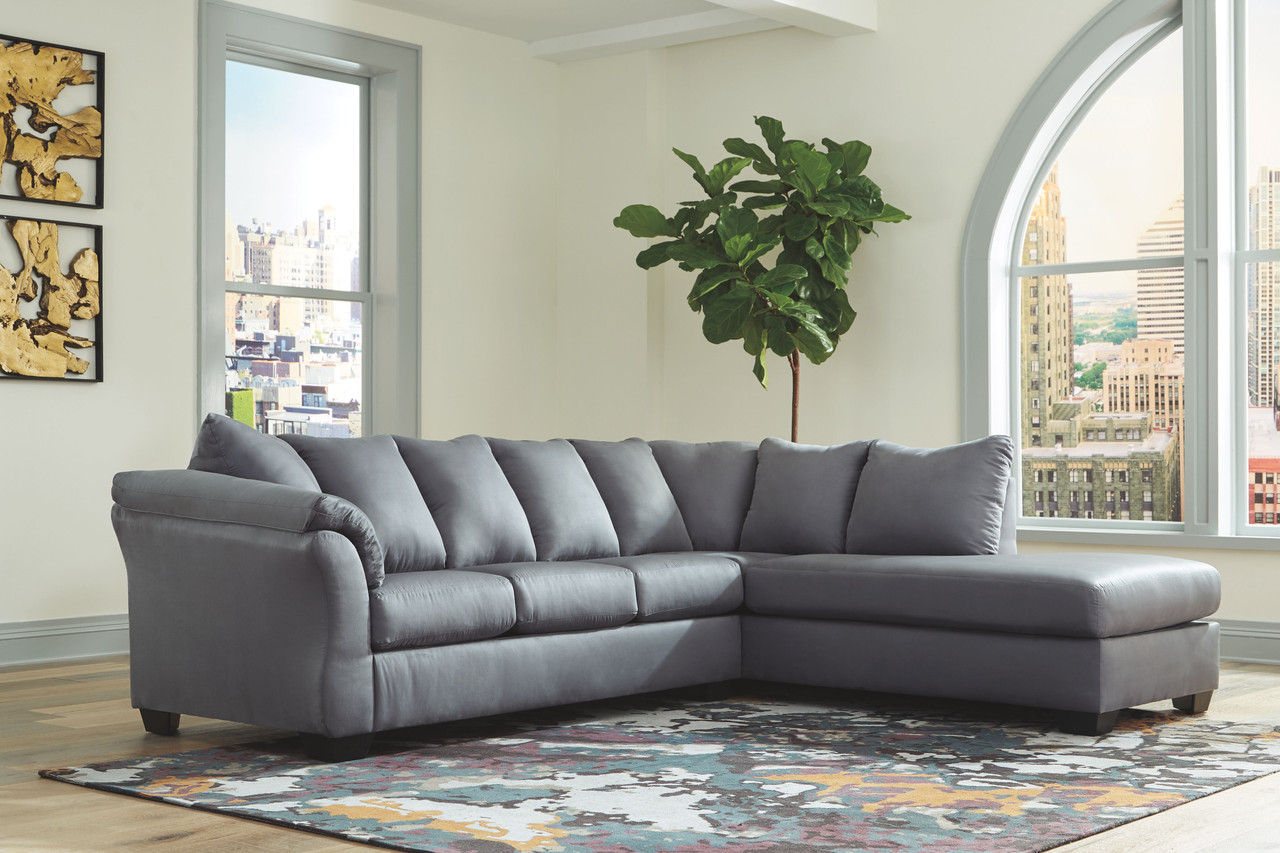 darcy steel laf sofa raf corner chaise sectional