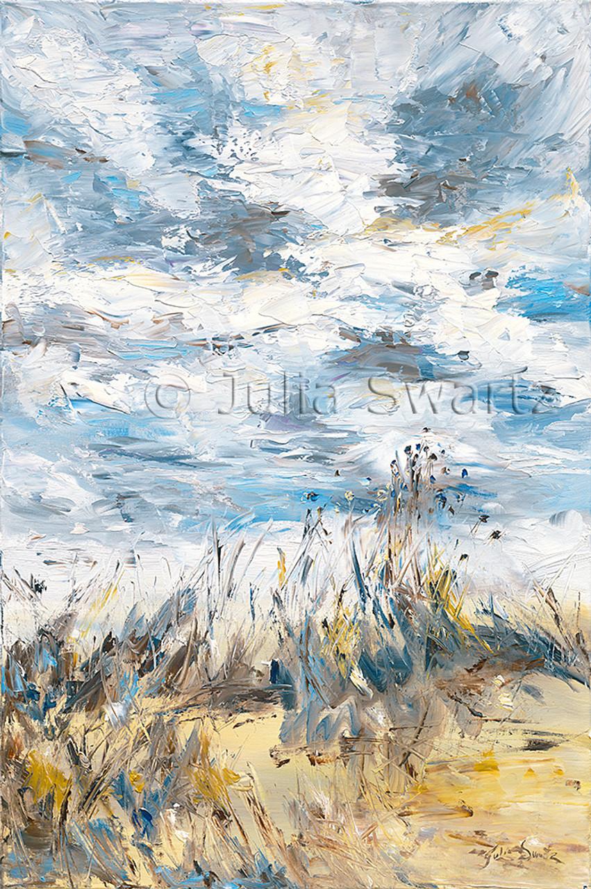 Impressionist Oil Painting : impressionist, painting, Autumn, Beach, Painting, Julia, Swartz, Gallery