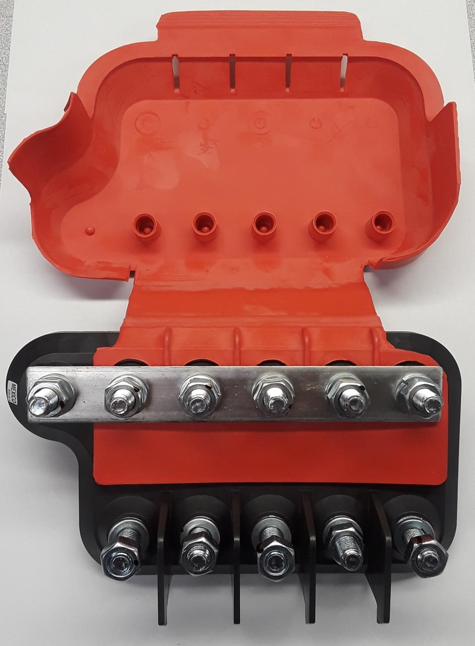small resolution of lmg5 1 001 eaton bussmann big block power distribution module 5