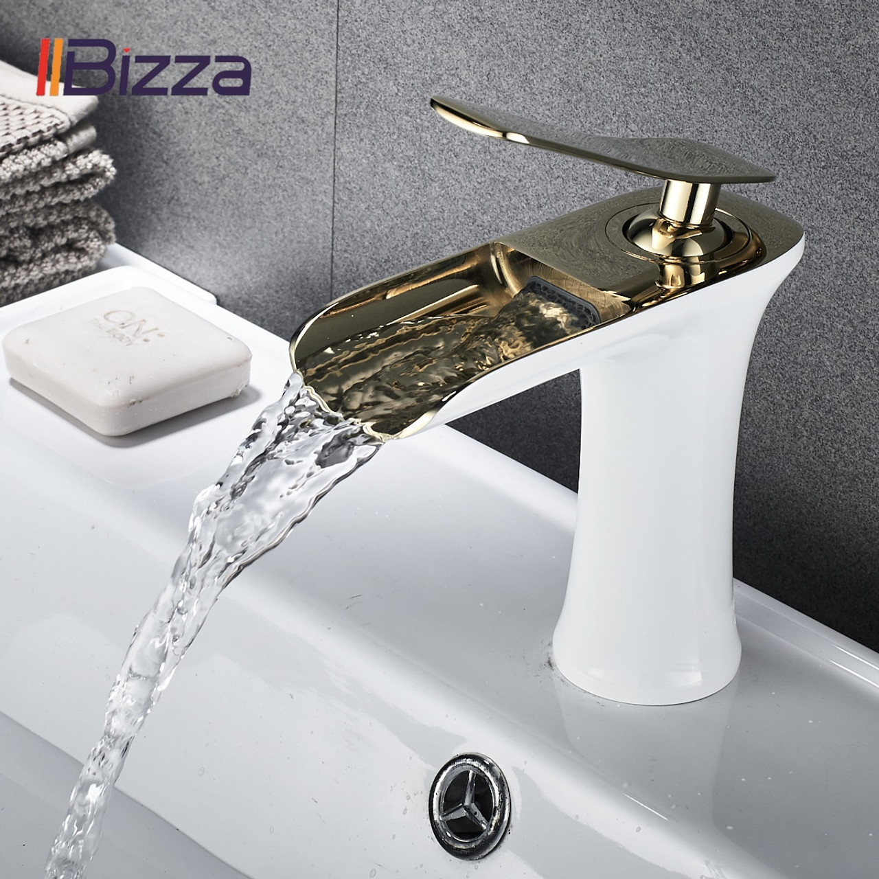 basin faucet black waterfall bathroom faucets hot cold water basin mixer tap chrome brass toilet sink water taps crane gold 1401 basin faucets