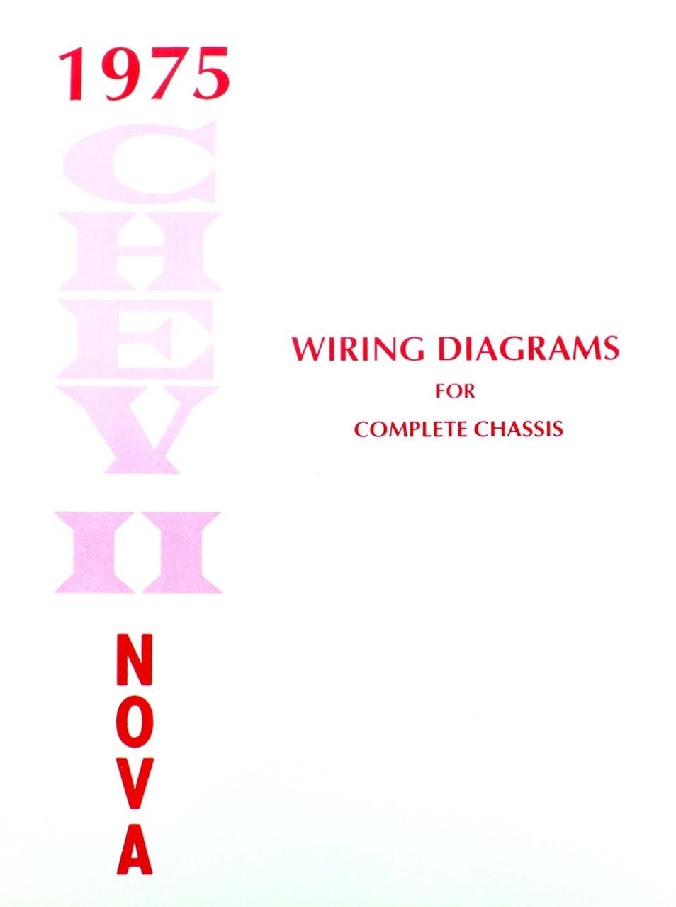 medium resolution of 75 chevy chevrolet nova electrical wiring diagram manual 1975 i 5 np208 transfer case diagram chevrolet nova wiring diagram