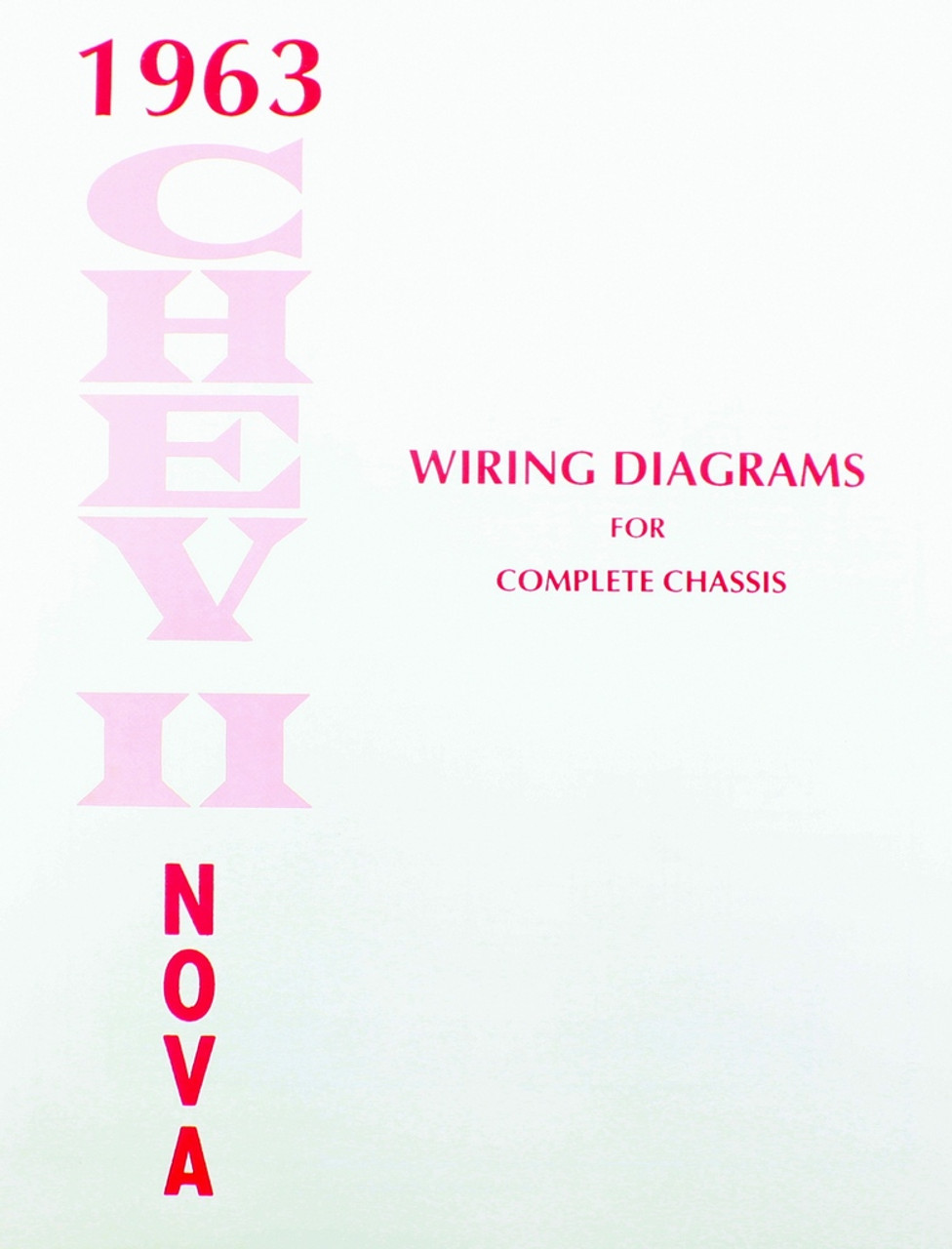 medium resolution of 63 1963 chevy nova electrical wiring diagram manual