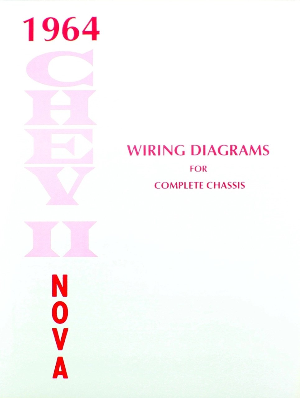 medium resolution of 64 1964 chevy nova electrical wiring diagram manual