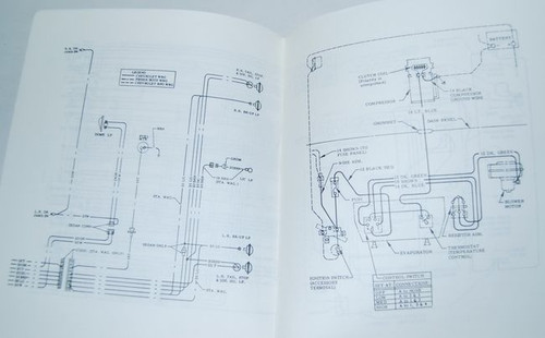 68 Chevelle El Camino Electrical Wiring Diagram Manual 1968  I5 Classic Chevy