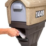 Classic Home Plus Mailbox Mailbox With Newspaper Holder Simplay3