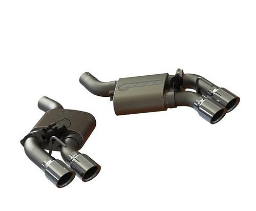 16 20 camaro ss quad tip axle back exhaust kit w cutouts qtp