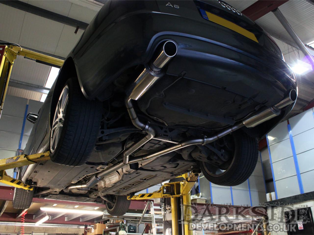 darkside developments custom exhaust systems