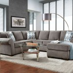 Luxury Smoke 3 Piece Sectional Set