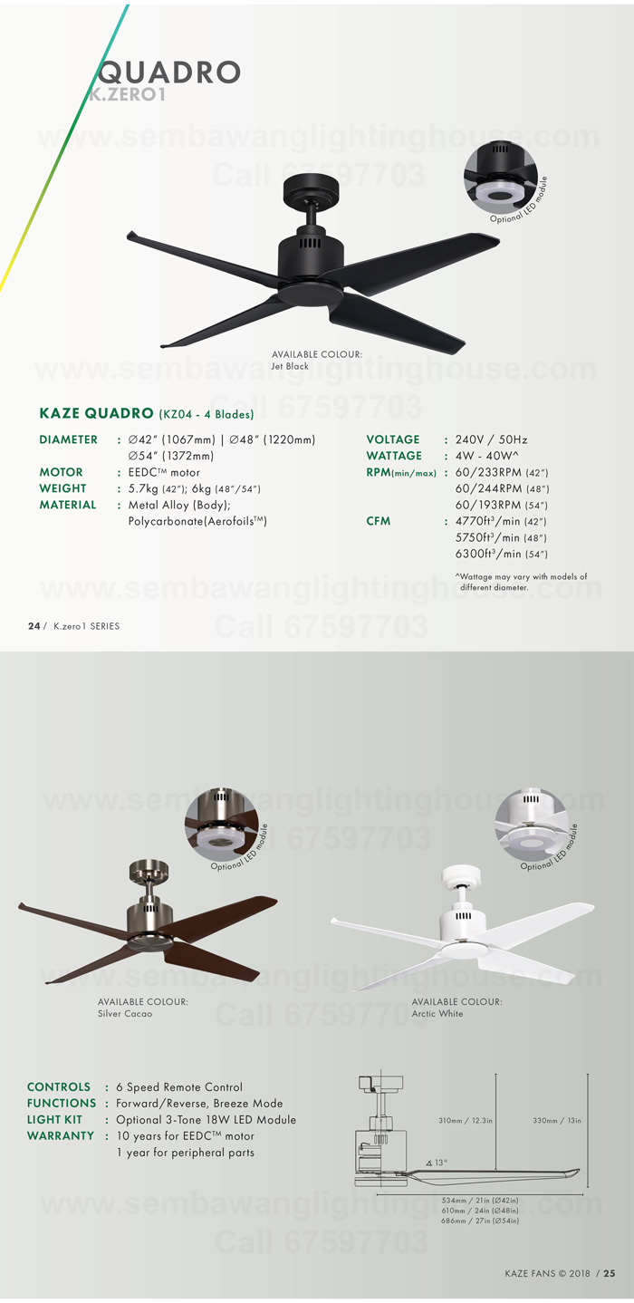 hight resolution of kaze quadro catalogue dc ceiling fan sembawang lighting