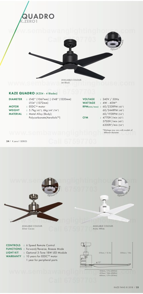 small resolution of kaze quadro catalogue dc ceiling fan sembawang lighting