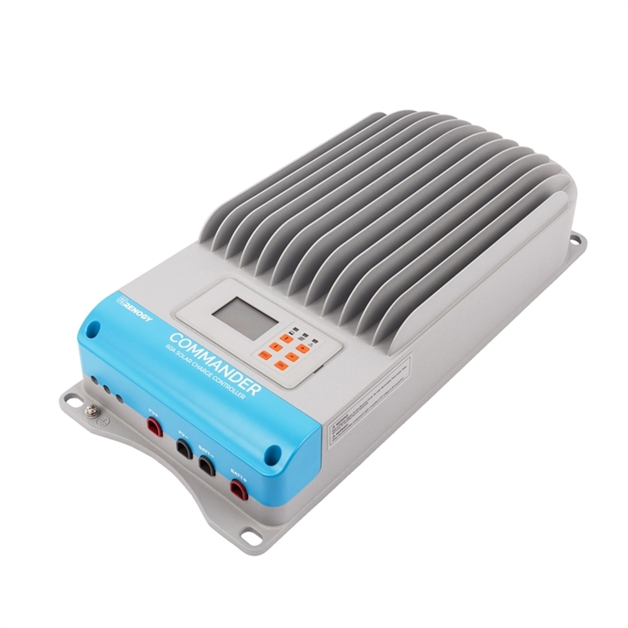 medium resolution of  renogy 60 amp commander mppt solar charge controller